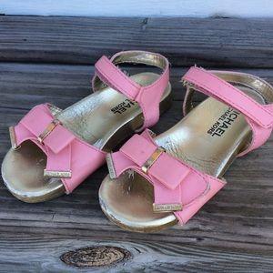 Michael Kors Little Girl's Pink Sandals 9